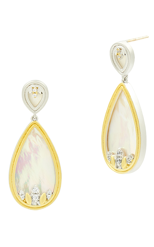 Freida Rothman Fleur Bloom Empire Earrings FBPYZMPE46 product image