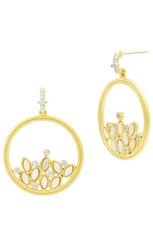 Freida Rothman Fleur Bloom Empire Earrings FBPYZMPE48 product image