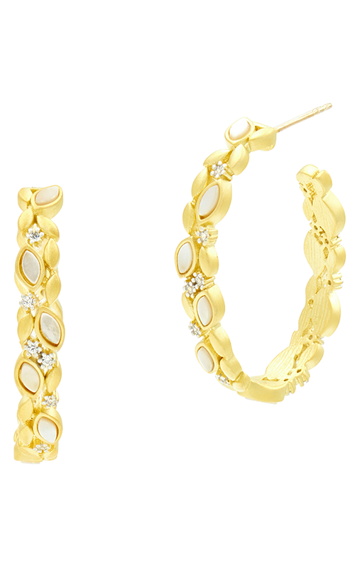 Freida Rothman Fleur Bloom Empire Earrings FBPYZMPE50 product image