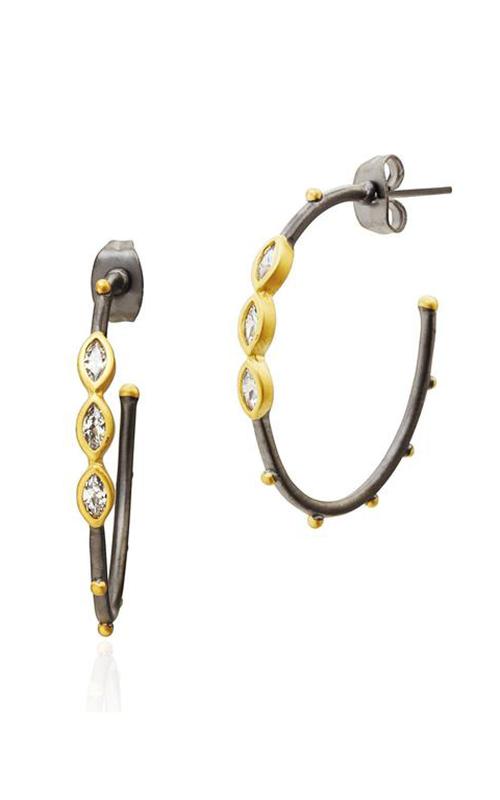 Freida Rothman FR Signature Earrings YRZE020180B-14K product image