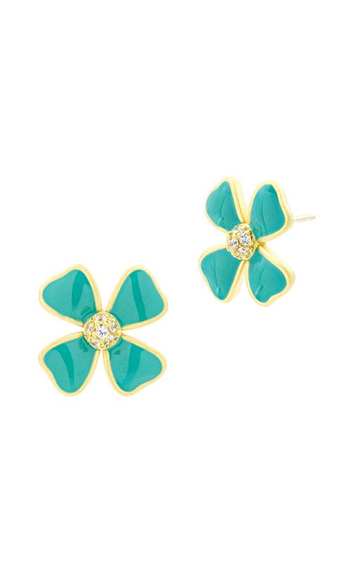 Freida Rothman Harmony Earrings HAYZTQE12-14K product image