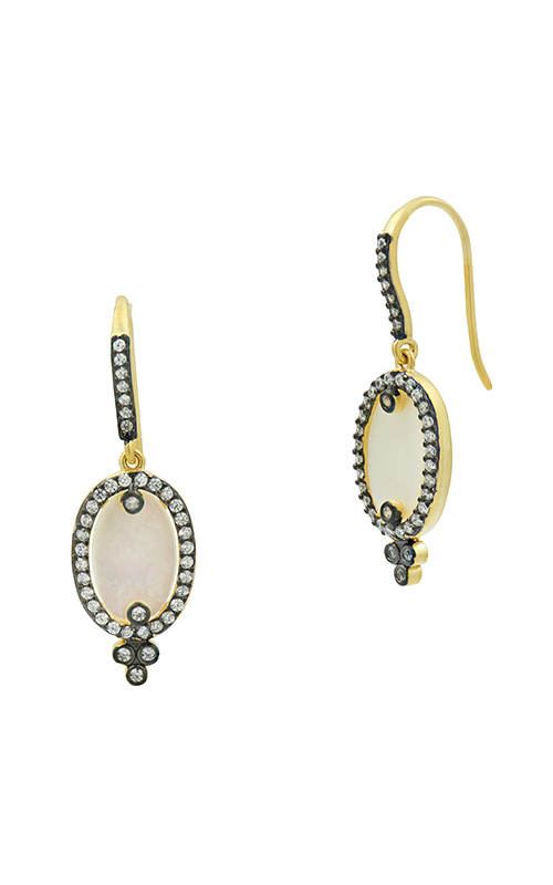 Freida Rothman FR Signature Earrings YRZE020142B-MOP product image