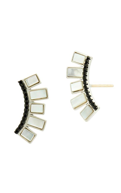 Freida Rothman Industrial Finish Earrings IFPKME46-14K product image