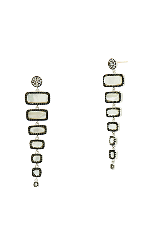 Freida Rothman Industrial Finish Earrings IFPKZME48-14K product image
