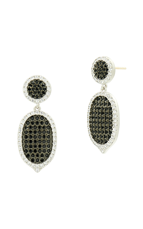 Freida Rothman Industrial Finish Earrings IFPKZBKE55-14K product image