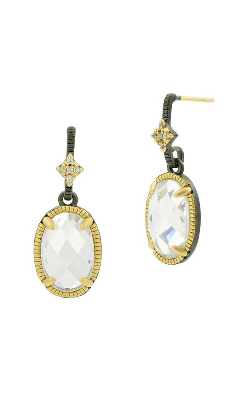 Freida Rothman FR Signature Earrings YRZE020433B-14K product image