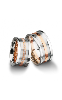 Furrer Jacot Multi-Coloured Wedding Band 62-52770-0-0 product image