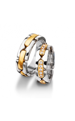 Furrer Jacot Multi-Coloured Wedding Band 62-52940-0-0 product image