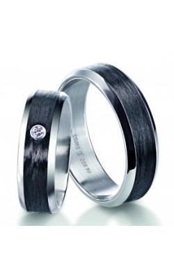 Furrer Jacot Carbon Rings Wedding band 71-29280-0-0 product image