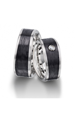 Furrer Jacot Carbon Rings Wedding Band 71-29170-0-0 product image