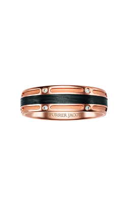Furrer Jacot Carbon Rings Wedding Band 71-84670 product image