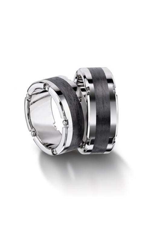Furrer Jacot Carbon Rings Wedding band 71-84160-0-0 product image