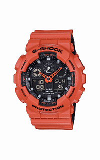 G-Shock Analog-Digital GA100L-4A
