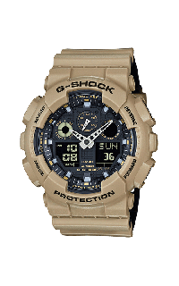 G-Shock Analog-Digital GA100L-8A