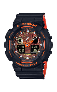 G-Shock Analog-Digital GA-100BR-1A