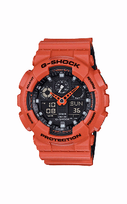 G-Shock Watch GA100L-4A product image