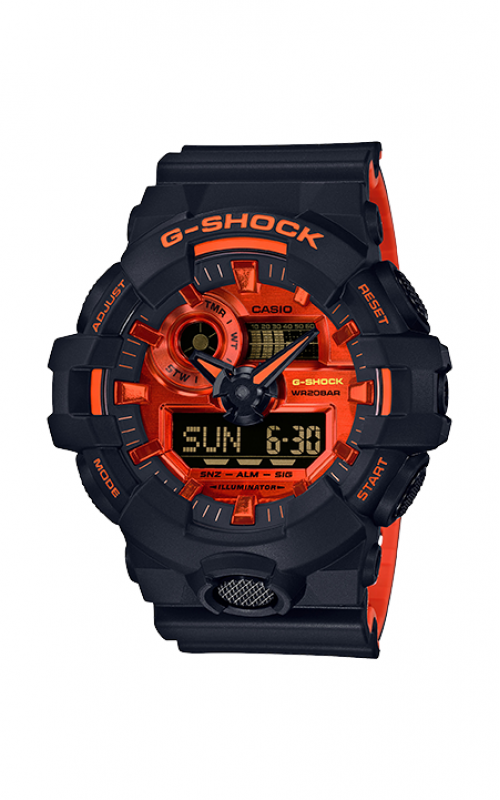 G-Shock Watch GA700BR-1A product image