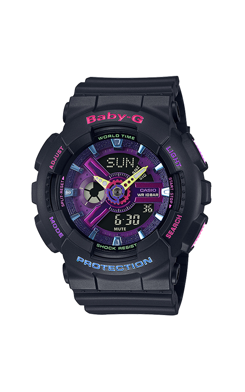 G-Shock Baby-G Watch BA110TM-1A product image