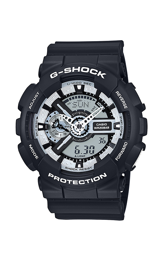 G-Shock Analog-Digital Watch GA110BW-1A product image