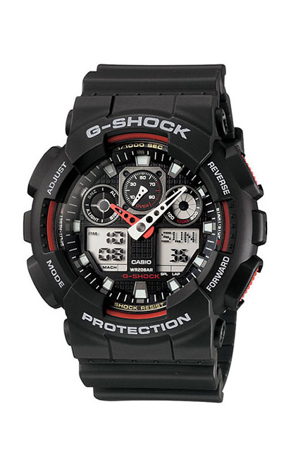 G-Shock Analog-Digital GA100-1A4 product image