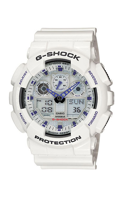 G-Shock Analig-Digital Watch GA100A-7A product image