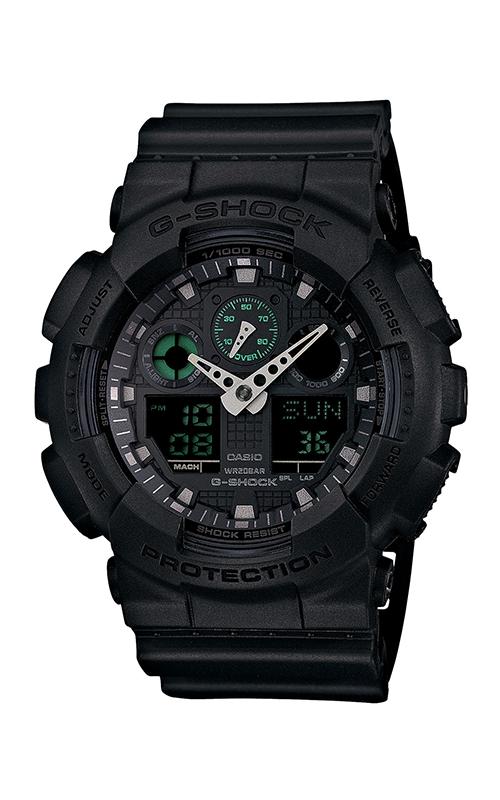G-Shock Analog-Digital GA100MB-1A product image