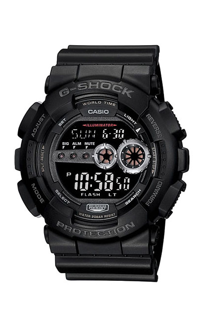 G-Shock Digital GD100-1B product image
