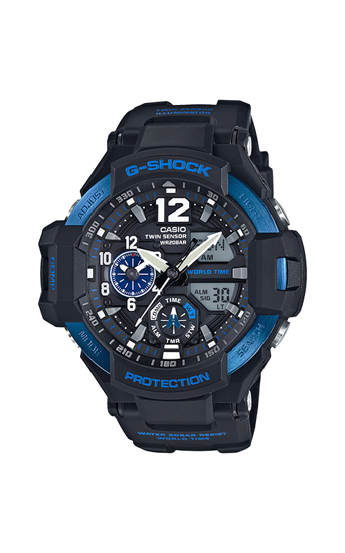 G-Shock Master Of G Watch GA1100-2B product image