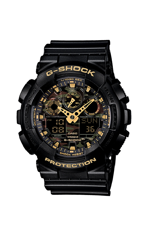 G-Shock Analog-Digital GA100CF-1A9 product image