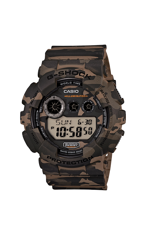 G-Shock Digital GD120CM-5 product image