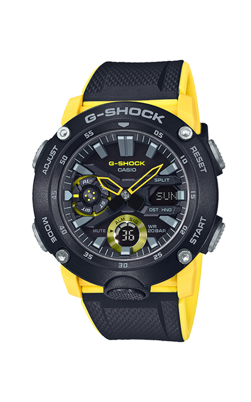 G-Shock Analog-Digital GA2000-1A9 product image