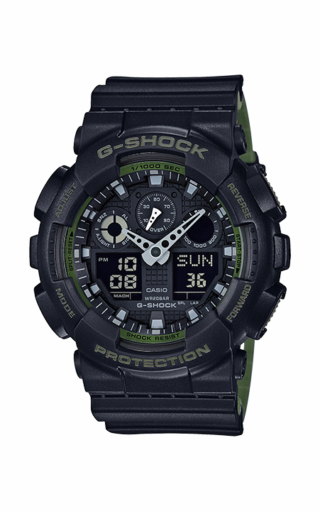 G-Shock Analog-Digital GA100L-1A product image