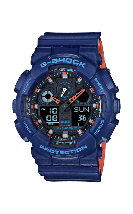 G-Shock Analog-Digital GA100L-2A product image