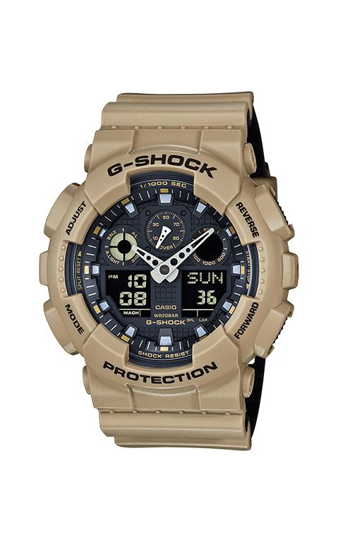 G-Shock Analog-Digital GA100L-8A product image