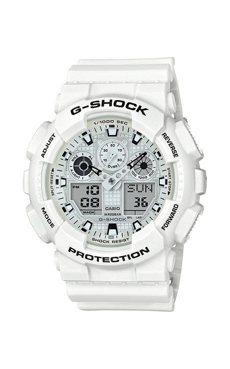 G-Shock Analog-Digital GA100MW-7A product image