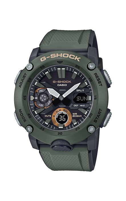 G-Shock Analog-Digital GA2000-3A product image
