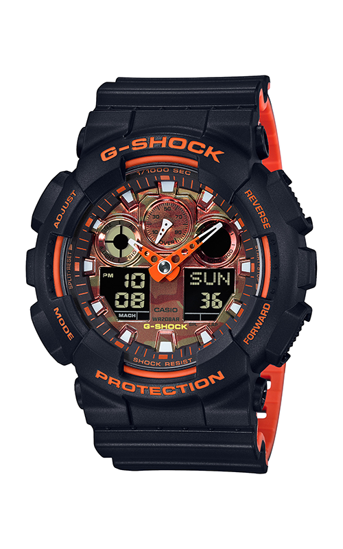 G-Shock Analog-Digital GA-100BR-1A product image