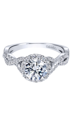 Gabriel & Co. Contemporary Engagement Ring ER7543W44JJ product image