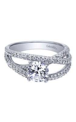 Gabriel New York Contemporary Engagement Ring ER10204W44JJ product image