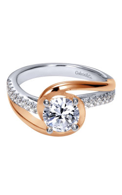 Gabriel & Co. Contemporary Engagement Ring ER10309T44JJ product image