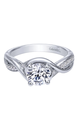 Gabriel & Co. Contemporary Engagement Ring ER10315W44JJ product image