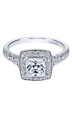 Gabriel & Co. Victorian Engagement Ring ER10907W44JJ product image