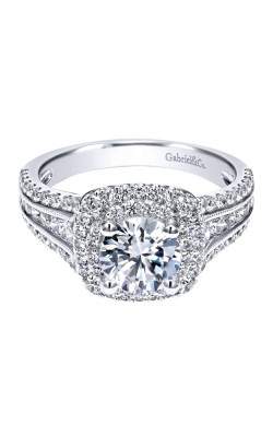 Gabriel & Co. Contemporary Engagement Ring ER11760R4W44JJ product image