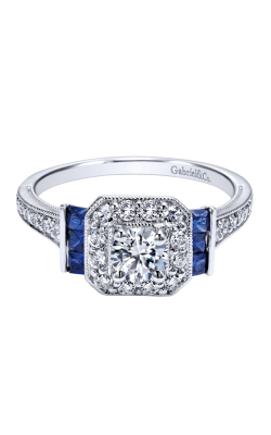 Gabriel & Co. Victorian Engagement ring ER11932R0W44SA product image