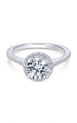 Gabriel & Co. Contemporary Engagement Ring ER6419W44JJ product image