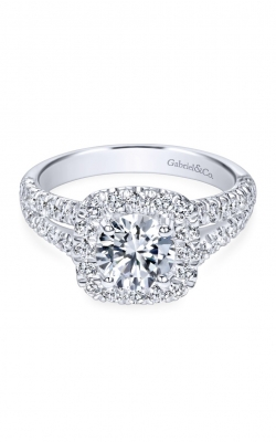 Gabriel New York Contemporary Engagement Ring ER10252W44JJ product image