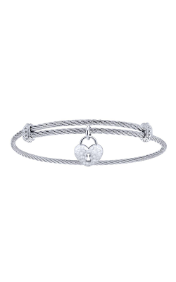 Gabriel New York Steel My Heart Bracelet BG3576MXJJJ product image