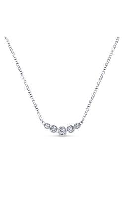 Gabriel & Co. Lusso Diamond Necklace NK5424W45JJ product image