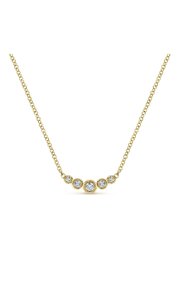 Gabriel & Co. Lusso Diamond Necklace NK5424Y45JJ product image