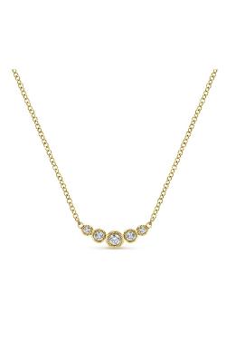 Gabriel & Co. Lusso Diamond Necklace NK5424Y45JJ product image